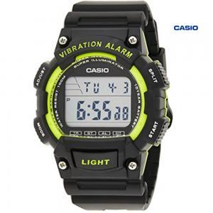 Casio W-736H-3AVDF Digital Watch For Men, Black