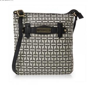 Tommy Hilfiger Crossbody Bag for Women - Black & White