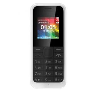 U2 106 Mobile Phone, 1.77 Inch QVGA Display, Dual Sim, Camera- White