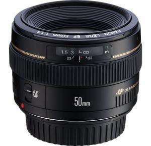 Canon EF 50mm f/1.4 USM Prime Lens for Canon DSLR Cameras