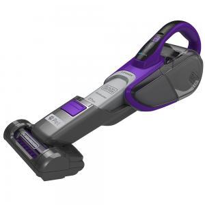 BLACK+DECKER DVJ325BFSP-GB Lithium-Ion Pet Hand Vacuum with Smart Tech Sensors, 27 W
