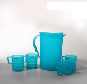 Royalford Wafer Water Jug 2L with 4 Glasses - RF8868