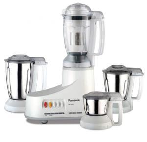 Panasonic 4 in 1 4-Jar Mixer And Grinder Blender , MXAC400