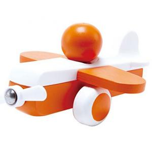 Hape Sky Flyer Toy Plane in Orange