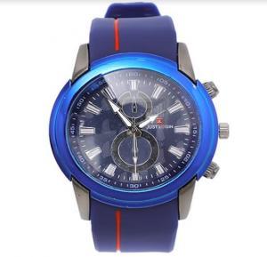 Just login fashion wrist watch for Men Blue, Royalhand