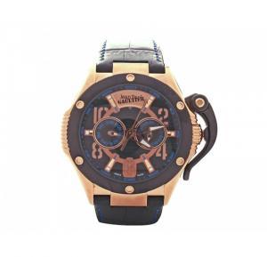 Jean Paul Gaultier Swiss Made  Men Black Watch - JPG0105006