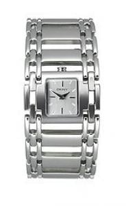 DKNY Women Quartz Watch Analogue Display and Stainless Steel Strap,NY3757