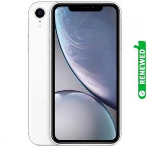 Apple iPhone XR With FaceTime White 128GB 4G LTE Renewed- S