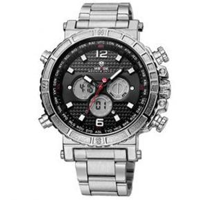 Weide Dual Time Zone With Alarm Mens Watches - 6305