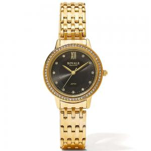 Royale Executive Womens Metal Analog Watch, RE076B