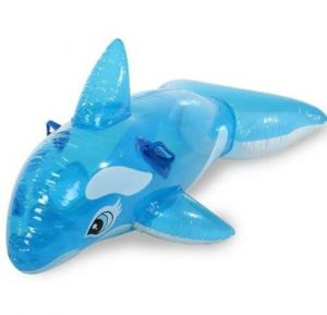 Intex Lil Whale Ride On Floating Raft Blue - 58523