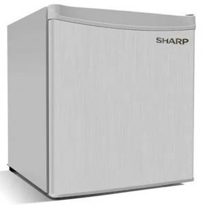 Sharp Single Door Compact Refrigerator, 65Ltr, SJ-K75X-SL3, Silver