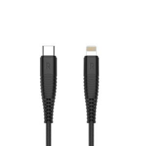 RAVPower Type C To Lightning Cable 1m Black, RP-CB062