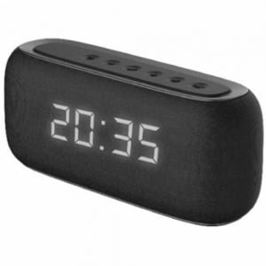 Havit M29 Fabric Speaker V4.2 Bluetooth Speakers With Alarm Clock, Black
