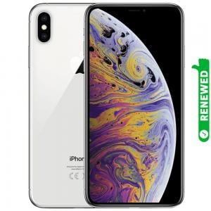 Apple iPhone XS Max With FaceTime 512GB Silver 4G LTE Renewed- S