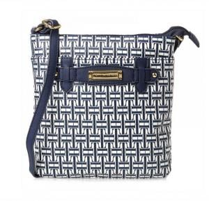 Tommy Hilfiger Crossbody Bag for Women - Navy & White