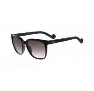 Liu Jo Oval Black Frame & Grey Black Mirrored Sunglasses For Woman - LJ637S-001