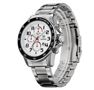Weide White Men Watches Men Military Quartz Sports Watch Dive ,WH-3308