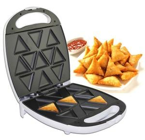 Orbit 11 pcs Sergio Electric Samosa Maker, White