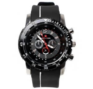 Just Login Black Strap Wrist watch, Royalhand