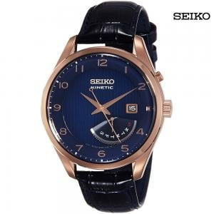 Seiko Men Analog Blue Dial Watch, SRN062P1