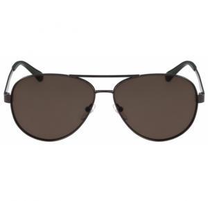 Calvin Klein Aviator Gunmetal Frame & Gradient Mirrored Sunglasses For Unisex - CK2145S-060