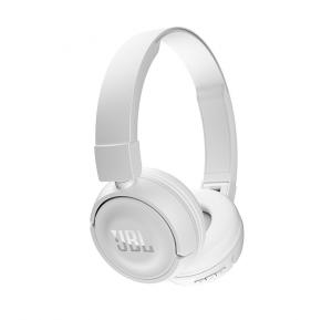 JBL T450 Wireless On-Ear Headphones - White