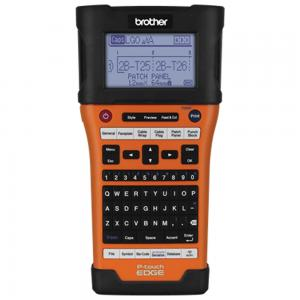 Brother PTE550W Industrial Wireless Handheld Labeling Tool W Auto Strip Cutter and Computer Connectivity