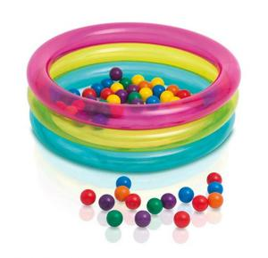 Intex-Classic 3-ring baby ball pit, ages 1-3,48674