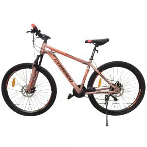 Corrado 27.5 inch Dual Disk Brake Bicycle, Light Orange