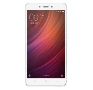 Xiaomi Redmi Note 4 Smartphone, Android, 5.5 inch Display, 3GB RAM, 64GB Storage,Fingerprint Sensor,Dual SIM,Dual Camera-Silver