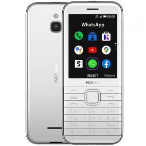Nokia 8000 Dual SIM White 512MB RAM 4GB 4G LTE
