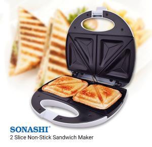 Sonashi SSM-856 2 Slice Non-Stick Sandwich Maker