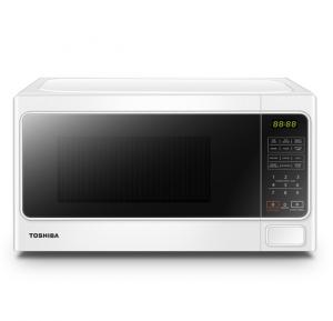 Toshiba MM-EM20P(WH) Microwave Oven - 8 Auto Cook Menu 11 Power Level Membrane Control Microwave - Power 800W - White