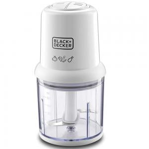Black and Decker SC310-B5 500ml Cookie Cutter 300W  With 2 Speed Slicing, White