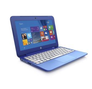 HP Stream 11-d010nr Intel Celeron N2840, 2GB DDR3RAM, 32GB eMMC Intel HD graphics 11.6 inch, Windows 8.1 - Blue
