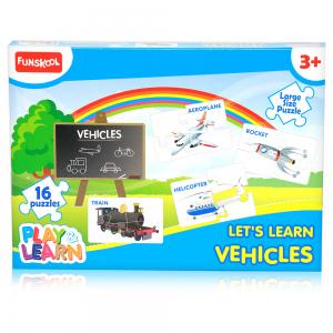 Funskool Vehicles Puzzles, 2533500
