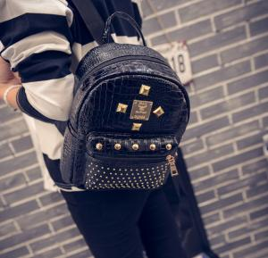 Famous Glamorous Backpack- Black