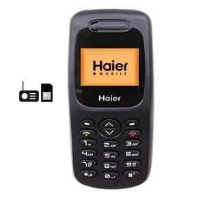 Haier Z1600i Mobile, Black
