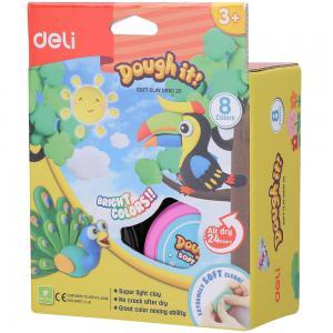 Deli Soft Clay 8 Colors, D85020