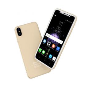 Gmango I8 Smartphone 4G LTE, Android 6.1, 5.0 Inch HD Display, 3GB RAM, 16GB Storage, Dual Camera, Dual Sim- Gold