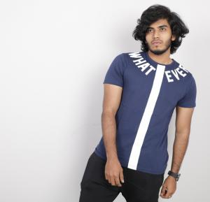 UN Lock Mens Tshirt Blue - ST8653 - M