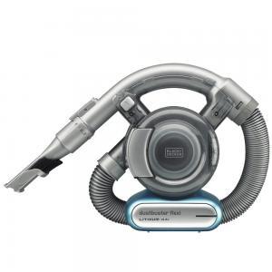 Black and Decker PD1420LP-GB 14.4V Lithium Flexi Dustbuster Cordless Hand Vacuum, Grey