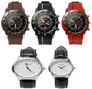 Just Login 5 in 1 Wrist watch Collection, Take 3 and Get 2 Piece Abijah watch Set, Royalhand