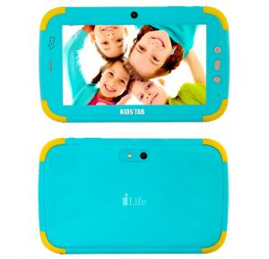 i-life Kids Tab 7 Inch 1GB RAM, 8GB Storage 3200mah Battery 3G Android 4.4,Blue