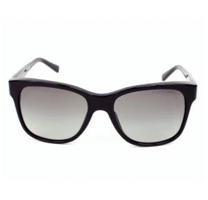 Ralph Lauren Wayfarer Black Frame & Grey Gradient Mirrored Sunglasses For Woman - RL8115-500111