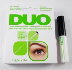 Duo Eyelash Glue Clear Brush-on