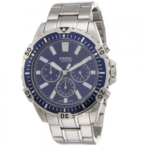 Fossil Analog Blue Dial Gents Watch, FS5623