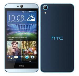 HTC Desire 826 4G Smartphone, 5.5 Inch Display, Android OS, 2GB RAM, 16GB Storage, Dual SIM, Dual Camera - Blue