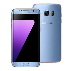 Samsung Galaxy S7 Edge 4G Smartphone,  5.5 Inch Display, Android OS, 4GB RAM, 32GB Storage, Dual Camera - Coral Blue